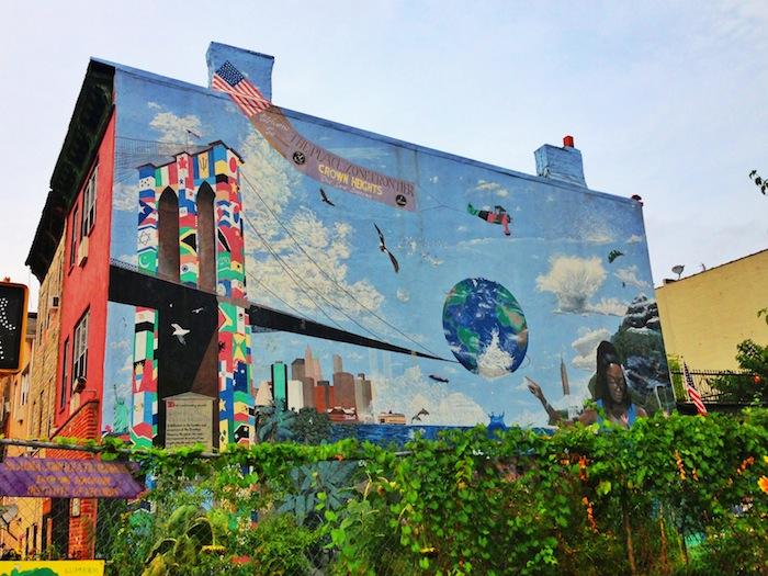Roger That Garden Project Mural