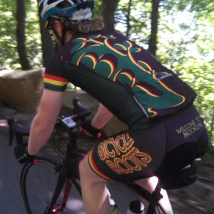 Bicycle Roots Rasta Kit on River Road