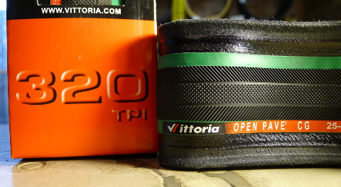 Vittoria Open Pave CG Tires are the n'est plus ultra of high end road cycling tires. Not only are they great for pavement, but they easily grip dirt and cobblestones, too.