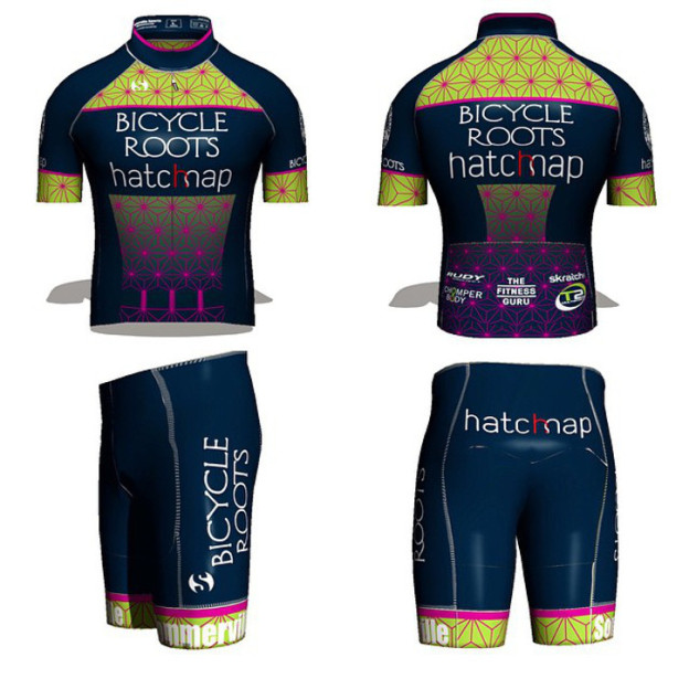 Bicycle Roots pb Hatchmap Cycling Team Kit