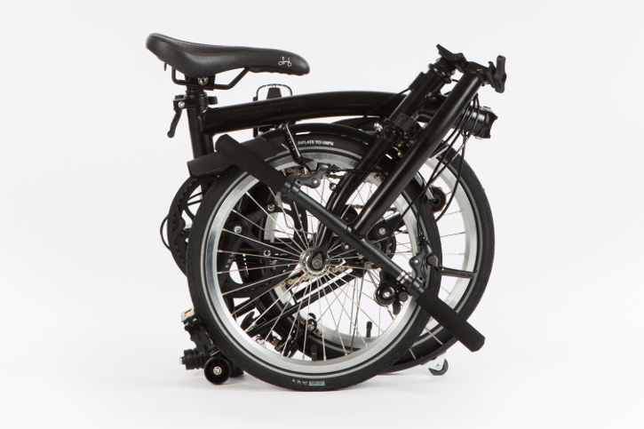 "The Bicycle Roots ""None More Black"" Brompton"
