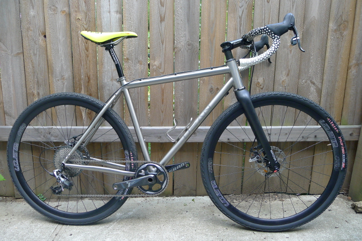 A Dean Antero demo bike at Bicycle Roots