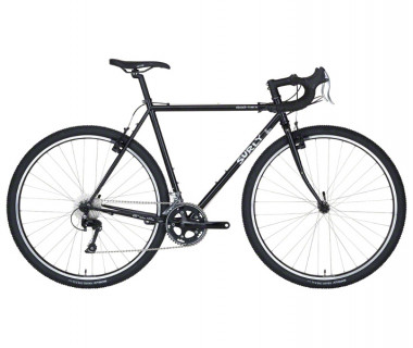 Surly Cross Check 10 Speed Bike (2017) Black Side View
