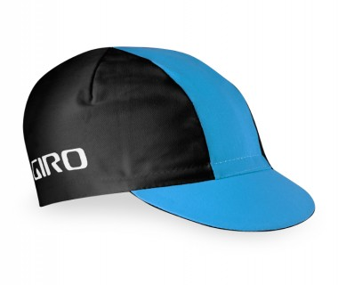 Giro Classic Cotton Cap (2016) - Black/Blue Jewel/Glowing Red