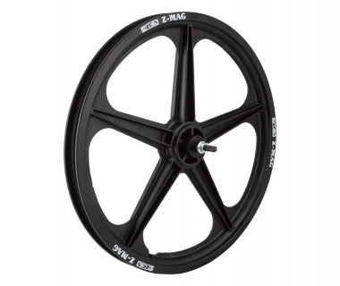 "ACS Front Wheel: 20"" 5-Spoke Mag Rim/Bolt On Hub"