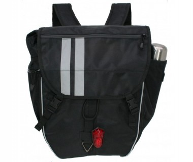 Banjo Brothers Waterproof Backpack Pannier (Backpack Mode)