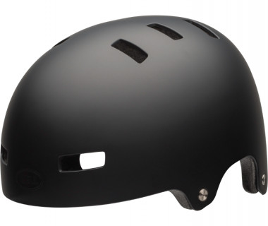 Bell Local Helmet (2019) Matte Black Front Left