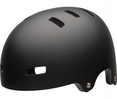 Bell Span Children's Helmet (2020) Matte Black Front Left