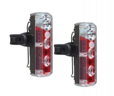 Blackburn 2'Fer XL USB Front or Rear Light Set Pair