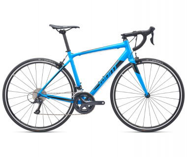 Giant Contend 1 Bike (2019) Blue Side View