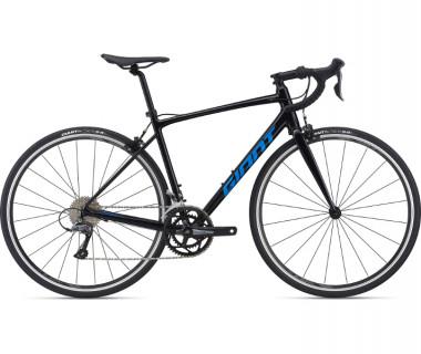 Giant Contend 3 Bike (2021) Black Profile