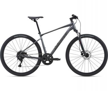 Giant Roam 2 Disc Bike (2021) Charcoal Profile