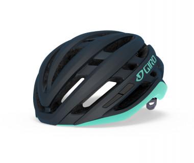 Giro Agilis MIPS Women's Helmet (2020) Matte Midnight Cool Breeze Front Left