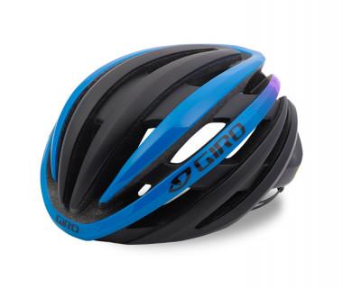 Giro Cinder MIPS Helmet (2017) Matte Black/Blue/Purple Front Left