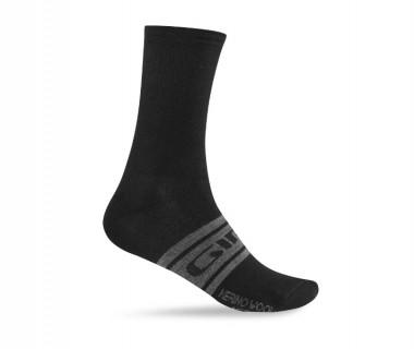 Giro Merino Seasonal Wool Sock Black/Charcoal Clean