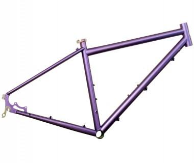 Gunnar Cycles Fastlane Frame Starlight Purple Right