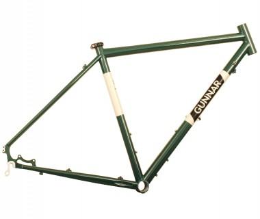Gunnar Cycles Grand Disc Frame British Racing Green w/ Panda Panels