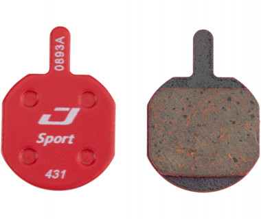 Jagwire Mountain Sport Disc Brake Pads for Hayes CX, MX, Sole out of Packaging