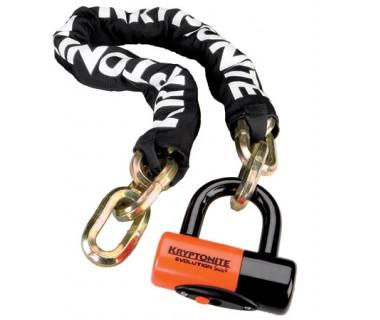 Kryptonite New York Chain 1210 with Evolution Disc Lock