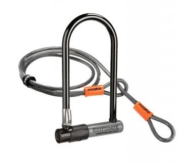 Kryptonite Kryptolok Series 2 Standard U-Lock with Kryptoflex 4' Cable