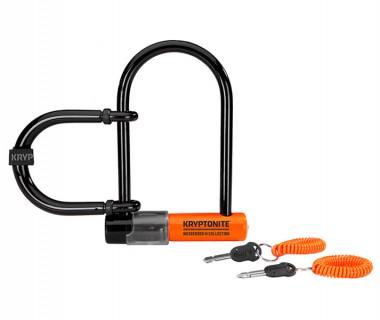 Kryptonite Messenger Mini + U-Lock with Wheel Extender