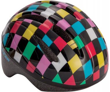 Lazer BOB Infant Helmet Black with Multi Colored Squares