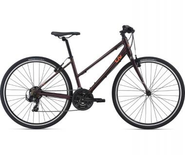 Liv Alight 3 Bike (2021) Rosewood Profile