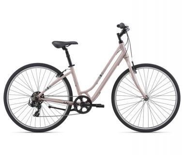 Liv Flourish 4 Bike (2021) Pale Mauve Profile