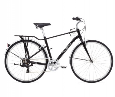 Momentum Street Bike Black/White Regular Step-Over