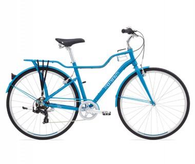 Momentum Street Bike Blue/White Small Mid-Step