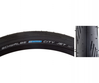 Schwalbe City Jet HS 474 Tire with K-Guard