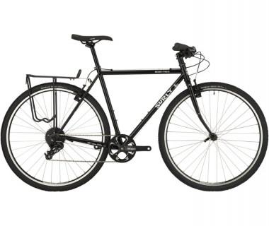 Surly Cross Check Flat Bar Bike (2018) Gloss Black Side View