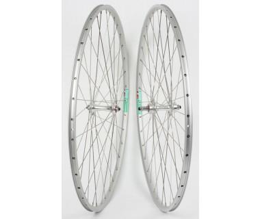 "WM Front Wheel: 27"" Weinmann LP18 36h Rim/Sealed Bearing QR Hub/Silver"
