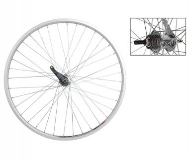 WM Rear Wheel: 26x1-3/8 Weinmann ZAC20 Rim/Coaster Brake Hub