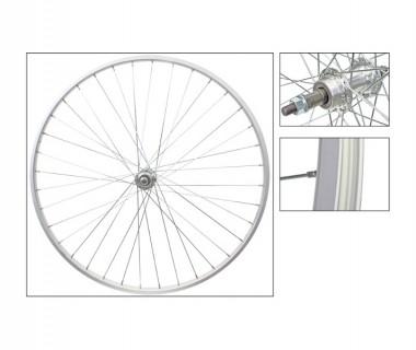 WM Rear Wheel: 27x1-14 Alloy Rim/126mm 5/6/7spd Freewheel BO Hub