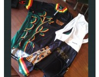 "Bicycle Roots Men's ""Rasta"" Jersey by Sommerville Sports"