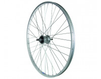 Action Rear Wheel: 26x1-3/8 LP70 Alloy Rim/Sturmey-Archer 3 Speed FW Hub/Silver