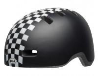 Bell Lil Ripper Children's Helmet (2019) Matte Black White Front Left