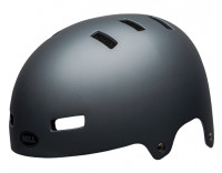 Bell Local Helmet (2020) Matte Gray Front Left