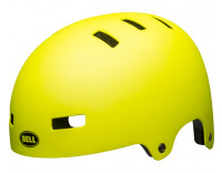 Bell Local Helmet (2021) Matte Hi Viz Front Left