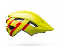 Bell Sidetrack Children's Helmet (2020) Strike Gloss Hi-Viz/Red Right