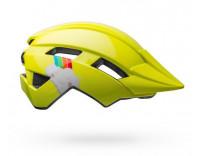 Bell Sidetrack Toddler Helmet (2020) Double Rainbow Gloss Yellow