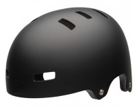 Bell Span Children's Helmet (2020) Matte Black Front Left