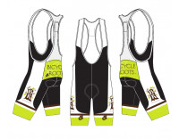 Bicycle Roots Team Bib Short by ChampSys