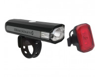 Blackburn Central 350 Micro Front & Click USB Rear Light Set