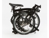 Brompton S6L Black Edition Folding Bike (Folding)