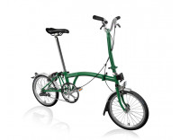 Brompton H6L Folding Bike w/ FCB (2020) Racing Green