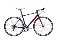 Giant Defy 5 Bike (2016), Satin Black/Red