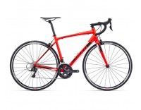 Giant Contend 1 Bike (2017)-Red-Profile
