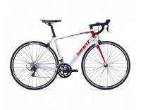 Giant Defy 3 Bike (2016) Red/White/Black